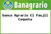 <i>banco Agrario El Paujil Caqueta</i>