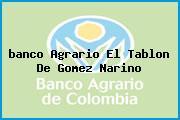 <i>banco Agrario El Tablon De Gomez Narino</i>