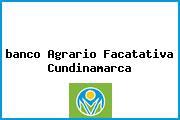 Teléfono y Dirección Banco Agrario, Cra 3 No. 5-40, Facatativá, Cundinamarca