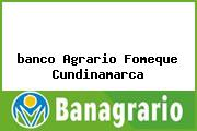 <i>banco Agrario Fomeque Cundinamarca</i>