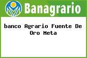 <i>banco Agrario Fuente De Oro Meta</i>