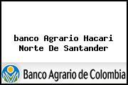 <i>banco Agrario Hacari Norte De Santander</i>