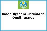 <i>banco Agrario Jerusalen Cundinamarca</i>