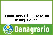 <i>banco Agrario Lopez De Micay Cauca</i>