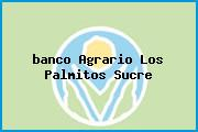 <i>banco Agrario Los Palmitos Sucre</i>