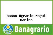 <i>banco Agrario Magui Narino</i>