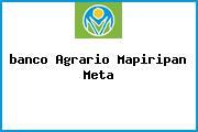<i>banco Agrario Mapiripan Meta</i>