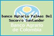 <i>banco Agrario Palmas Del Socorro Santander</i>
