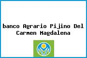 <i>banco Agrario Pijino Del Carmen Magdalena</i>