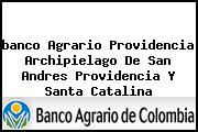 <i>banco Agrario Providencia Archipielago De San Andres Providencia Y Santa Catalina</i>