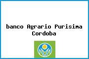 <i>banco Agrario Purisima Cordoba</i>