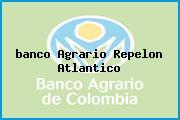 Teléfono y Dirección Banco Agrario,  Calle 8 No. 8 – 04, Repelon, Atlántico