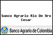 <i>banco Agrario Rio De Oro Cesar</i>