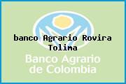 <i>banco Agrario Rovira Tolima</i>