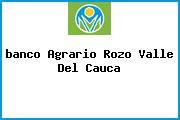 <i>banco Agrario Rozo Valle Del Cauca</i>