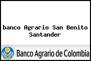 <i>banco Agrario San Benito Santander</i>