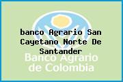 <i>banco Agrario San Cayetano Norte De Santander</i>