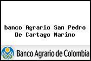 <i>banco Agrario San Pedro De Cartago Narino</i>