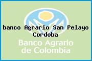 <i>banco Agrario San Pelayo Cordoba</i>
