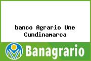 <i>banco Agrario Une Cundinamarca</i>