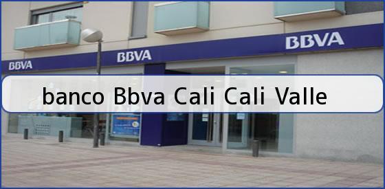 <b>banco Bbva Cali Cali Valle</b>