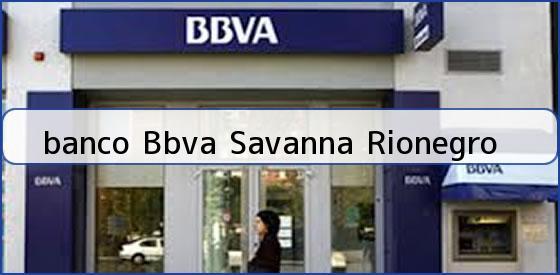 <b>banco Bbva Savanna Rionegro</b>