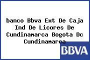 <i>banco Bbva Ext De Caja Ind De Licores De Cundinamarca Bogota Dc Cundinamarca</i>