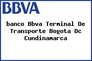 <i>banco Bbva Terminal De Transporte Bogota Dc Cundinamarca</i>
