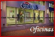 Teléfono y Dirección Banco Citibank, Home Center Cra 30 Paloquemao, Bogotá , Cundinamarca
