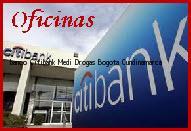 Teléfono y Dirección Banco Citibank, Medi Drogas, Bogota, Cundinamarca