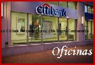 Teléfono y Dirección Banco Citibank, Mercadeo Express Ltda, Bogota, Cundinamarca