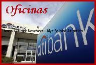 Teléfono y Dirección Banco Citibank, Novedades Lidys, Soledad, Atlantico