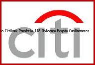 Teléfono y Dirección Banco Citibank, Panaderia 118 Golconda, Bogota, Cundinamarca