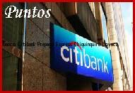 Teléfono y Dirección Banco Citibank, Prepago Express, Chiquinquirá, Boyaca