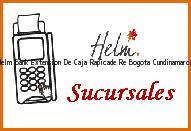 Teléfono y Dirección Banco Helm Bank , Extension De Caja Rapicade Re, Bogota, Cundinamarca