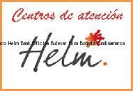 Teléfono y Dirección Banco Helm Bank , Oficina Bulevar Niza, Bogota, Cundinamarca