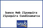 Teléfono y Dirección Banco Wwb, Zipaquirá, Zipaquirá, Cundinamarca