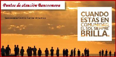 Teléfono y Dirección Bancoomeva, Centro, Caribe, Atlantico