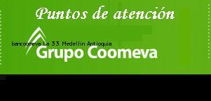Teléfono y Dirección Bancoomeva, La 33, Medellín, Antioquia