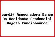 <i>cardif Aseguradora Banco De Occidente Credencial Bogota Cundinamarca</i>
