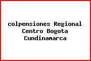 <i>colpensiones Regional Centro Bogota Cundinamarca</i>