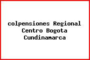 Teléfono y Dirección Colpensiones, Regional Centro, Bogotá , Cundinamarca