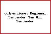 <i>colpensiones Regional Santander San Gil Santander</i>