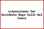 <i>colpensiones Sur Occidente Buga Valle Del Cauca</i>