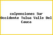 <i>colpensiones Sur Occidente Tulua Valle Del Cauca</i>