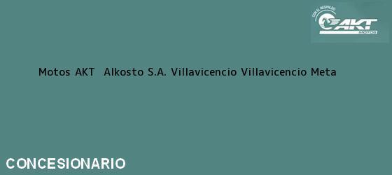 Teléfono, Dirección y otros datos de contacto para Motos AKT  Alkosto S.A. Villavicencio, Villavicencio, Meta, Colombia