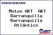 Motos AKT  AKT Barranquilla Barranquilla Atlántico