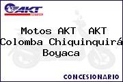 Motos AKT  AKT Colomba Chiquinquirá Boyaca