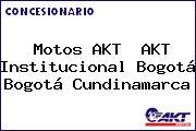 Motos AKT  AKT Institucional Bogotá Bogotá Cundinamarca
