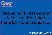 Motos AKT Alkomprar S.A 1ra De Mayo Bogotá Cundinamarca